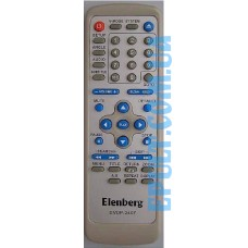 Пульт ДУ для  DVD Elenberg DVDP-2407 (Saturn ST1703, West)
